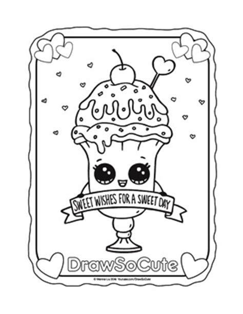 Coloring Pages Draw So Cute To Draw Coloring Pages