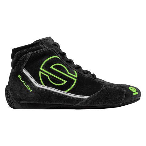 sparco 174 00123543nrvf slalom racing shoes black green