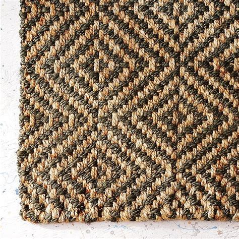 sisal pattern rug jute rug modern rugs by west elm