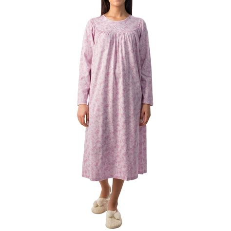 Soft Cotton For calida soft cotton interlock nightgown for save 51