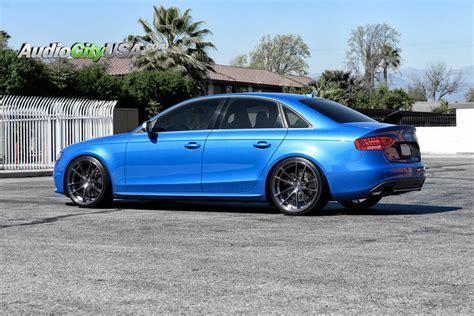 "2010 Audi S4   20"" Stance Wheels SC 1 Brush Titanium"