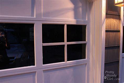 Adding Grilles To Garage Door Windows Pretty Handy Girl Add Windows To Garage Door
