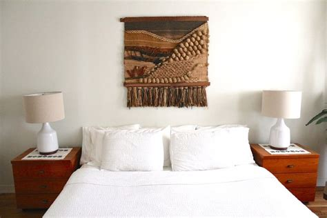 hanging upholstered headboard crushing on wall hangings a designer at home