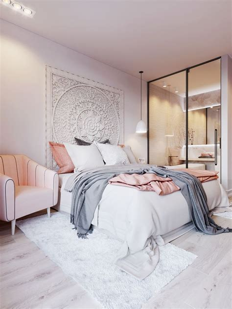 Pink And White Bedroom Designs Fresh Light Pink And Grey Bedroom Throughout Pink Gr 6221