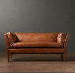 Restoration Hardware Leather Sofas Leather Sofa Restoration Smalltowndjs