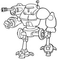 robot coloring pages robots coloring pages