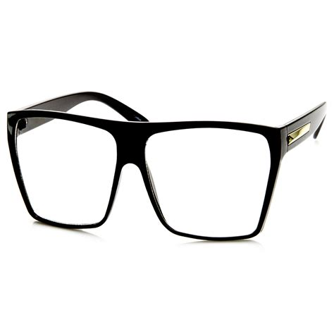 Square Glasses large oversized retro fashion clear lens square glasses ebay