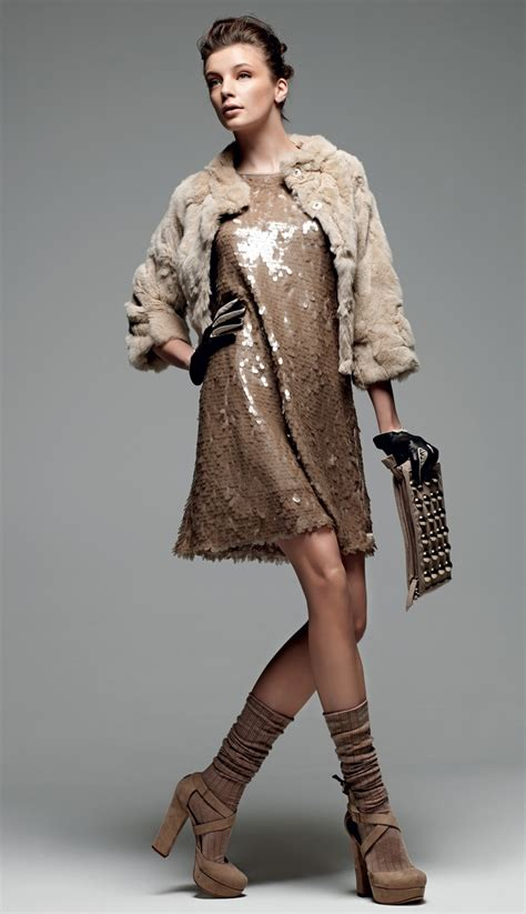 Set Dressm set simona barbieri quot sweet luxury quot fur jacket dress with all sequin embroidery and
