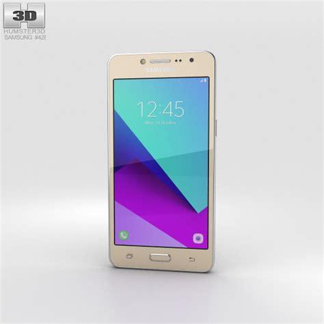samsung galaxy j2 prime gold 3d model hum3d