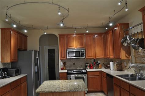 track lighting ideas for kitchen residential led lighting kitchen gallery april2013