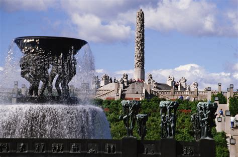 Cities In Germany by Unique Art In Oslo S Frogner Park Park Inn By Radisson Blog