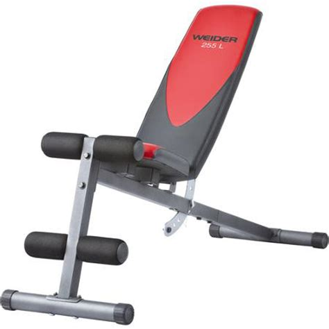 banc de musculation weider pro banc de musculation weider pro 255 l