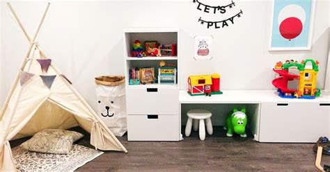 ikea ivar smart pinterest offices plywood and rum playroom makeover with ikea stuva system kids rooms