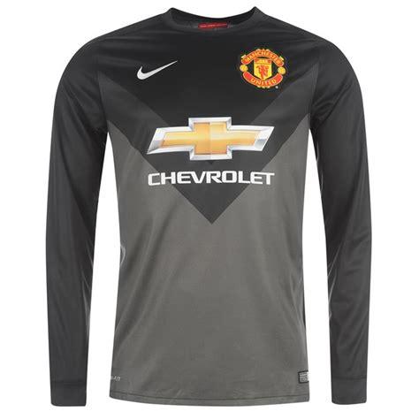 Manchester United Away Gk Shirt 2014 2015 utd away nike goalkeeper shirt black