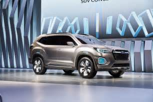 Suv Subaru Subaru Viziv 7 Concept Debuts Seven Seater Suv Image 581348