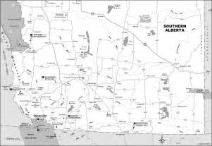 highway map of alberta canada trans canada highway road trip calgary to vancouver
