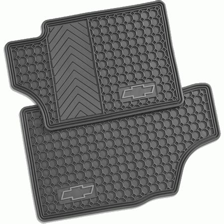 Chevy Trailblazer Floor Mats gm general motors 12499326 gm accessories premium rubber floor mats 2002 2006 chevy