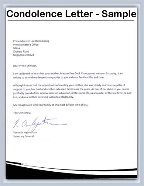 funeral letter template funeral letter template 28 images image gallery