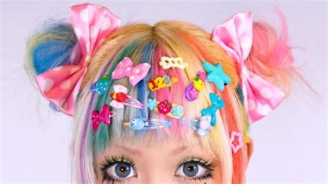 odango hair tutorial double buns youtube