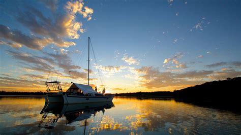 wharram catamaran australia sailing the west coast of south australia on our 37ft
