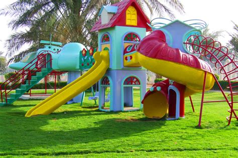 Houde Home Construction akar landscaping dubai miracle garden 187 children playgrounds