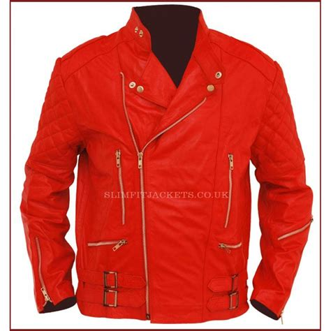 red motorcycle jacket vintage brando red motorcycle style leather jacket