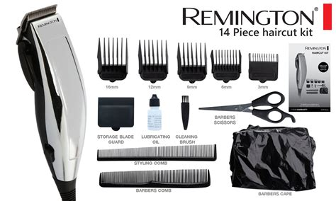 pictures of haircuts with trimmer different settings remington electric hair clippers haircut kit home cut
