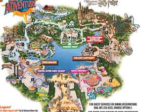 universal studios california map pdf universal studio s islands of adventure