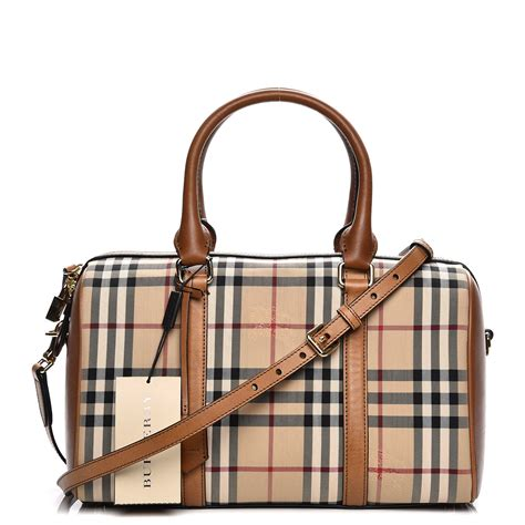 Resort Burberry Check Satchel by Burberry Horseferry Check Medium Alchester Satchel 206108
