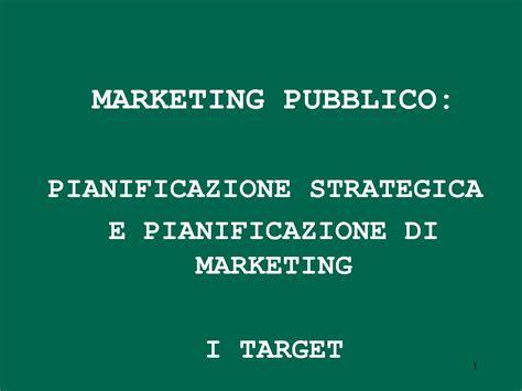 dispensa marketing marketing pubblico panificazione e target dispense