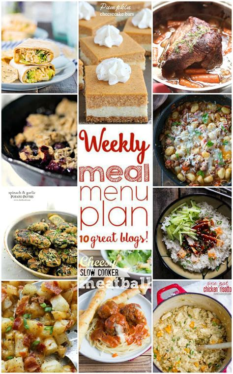 side dishes for dinner easy meal plan week of september 7th to 13th foodie