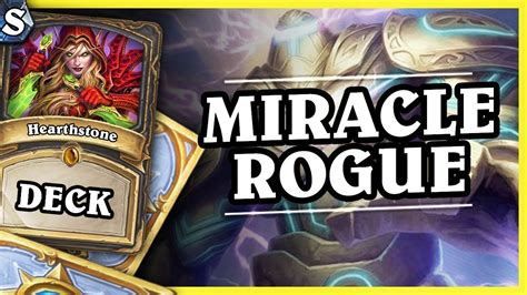 rogue deck hearthstone miracle rogue hearthstone deck std kotft