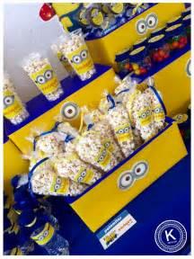 Mesa de dulces candy bar cumplea 241 os minions dulces salado