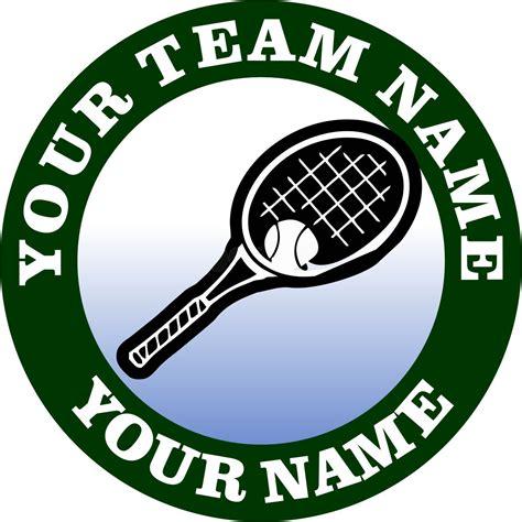 Logo Tenis customized tennis logo transfer iron on transfers heat