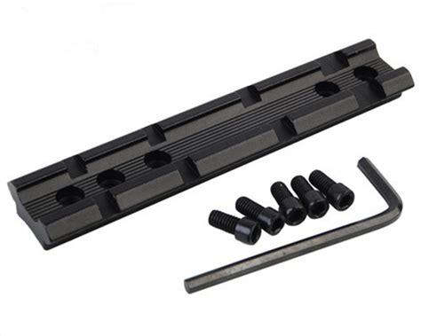 Weaver Rail Picatinny Adapter Rail Rail Converter Rail Picatinny dovetail to 20mm weaver picatinny sight scope rail base mount converter adapter ebay