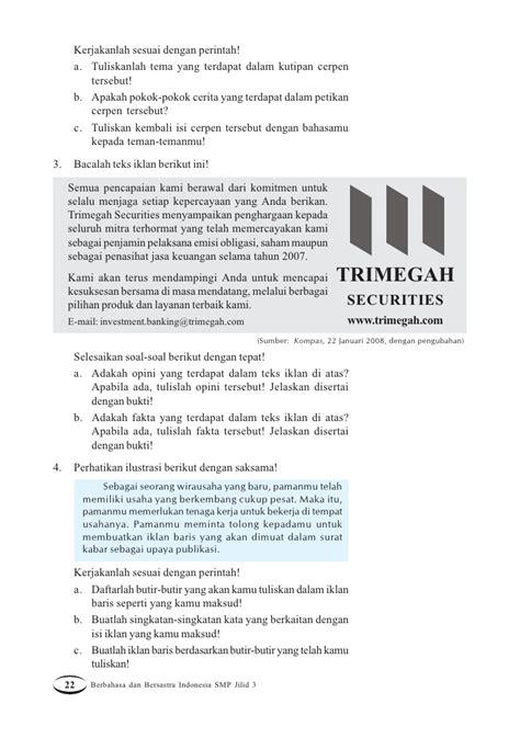 membuat konsep cerpen kelas ix smp bahasa indonesia asep yudha