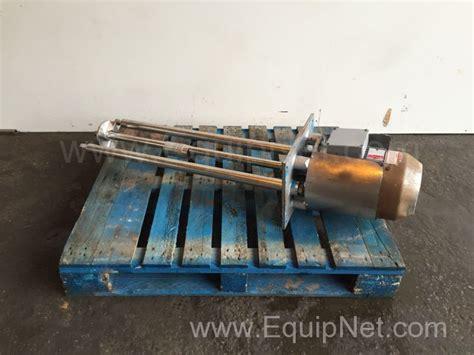 Mixer Gx 24 silverson gx stainless steel high shear mixer listing 490072