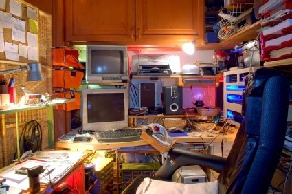 cluttered room declutterforever home organize it
