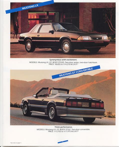 old cars and repair manuals free 1988 ford bronco ii instrument cluster 1988 ford full line brochure 1988 ford all page4 jpg