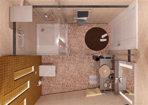 bathroom top view cgarchitect professional 3d architectural visualization