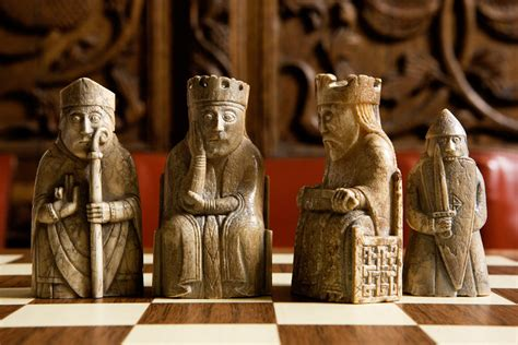 The Lewis Chessmen wizards and warriors the lewis chessmen who inspired harry potter and design the guardian