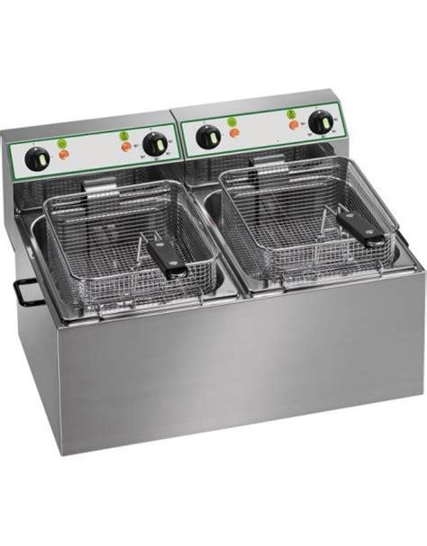 friggitrice 2 vasche friggitrice da banco elettrica 2 vasche lt 6 6 monofase