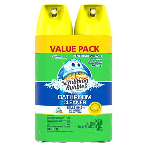 dow bathroom cleaner zep 32 oz shower tub and tile cleaner zustt32pf the