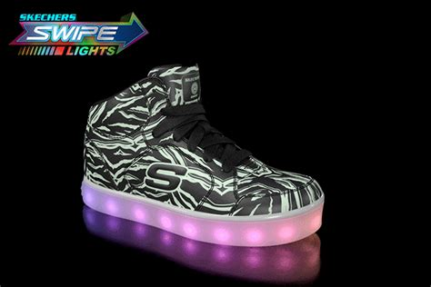 gold energy lights skechers light up the holidays in skechers swipe lights