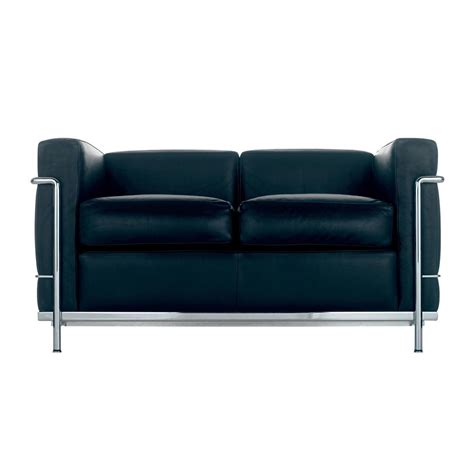 cassina divano le corbusier lc2 sofa cassina cassina ambientedirect