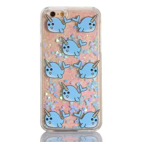 Harcase Gliter Iphone 7 for iphone 7 5 6s plus dynamic glitter unicorn