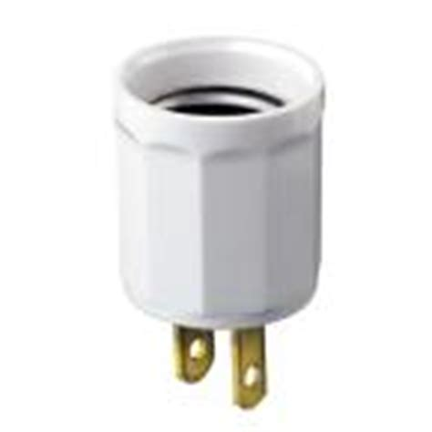 light bulb socket to ac outlet walmart l parts accessories indoor lighting parts accessories the home depot