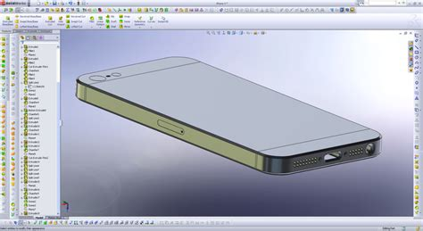 solidworks tutorial iphone iphone 5 body for case designs step iges solidworks