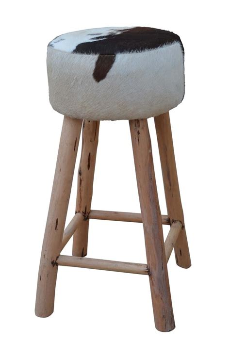 Cowhide Chair Australia - cowhide bar stool interiors