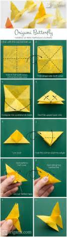 How To Make A Paper Butterfly - best origami butterfly go origami